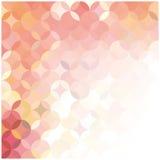 Abstracte achtergrond van gekleurde cirkels Royalty-vrije Stock Afbeeldingen