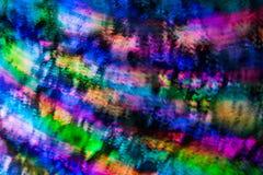 Abstracte achtergrond van gekleurde lichten in een motie Royalty-vrije Stock Afbeelding