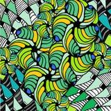 Abstracte achtergrond van geometrische vormen Royalty-vrije Stock Afbeelding