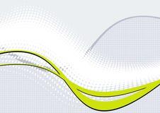 Abstracte achtergrond van golven Royalty-vrije Stock Afbeelding