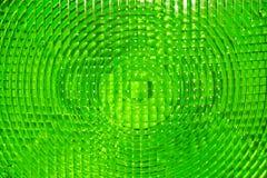 Abstracte achtergrond van groen gefacetteerd plastiek stock foto's