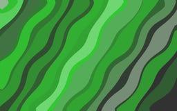 Abstracte achtergrond van groene die tinten op elkaar worden toegevoegd vector illustratie