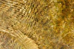 Abstracte achtergrond van het bewegen van water Royalty-vrije Stock Afbeelding