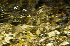 Abstracte achtergrond van het bewegen van water Royalty-vrije Stock Foto