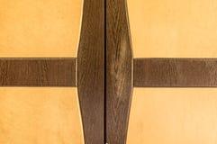 Abstracte achtergrond van het doorstane vierkant van de de raadsrechthoek van de triplexplank en L-vormig van vlotte oppervlakte  royalty-vrije stock foto
