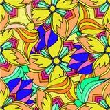 Abstracte achtergrond van het geometrische patronen trekken Royalty-vrije Stock Fotografie