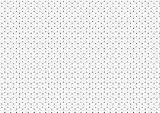 Abstracte achtergrond van het verbinden van zeshoeken en cirkels stock illustratie