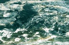 De abstracte achtergrond van het ijs Royalty-vrije Stock Fotografie