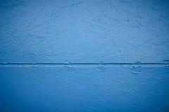 Abstracte achtergrond van kleur een blauw metaal stock fotografie