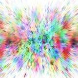 Abstracte achtergrond van kleurenuitbarsting Stock Afbeeldingen