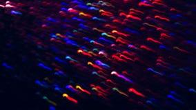 Abstracte achtergrond van kleurrijke golven in motie Stock Foto's