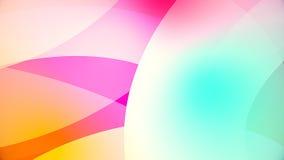 Abstracte achtergrond van kleurrijke reusachtige vormen Royalty-vrije Stock Afbeelding
