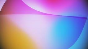 Abstracte achtergrond van kleurrijke reusachtige vormen Royalty-vrije Stock Fotografie