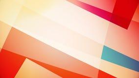Abstracte achtergrond van kleurrijke reusachtige vormen Royalty-vrije Stock Foto's