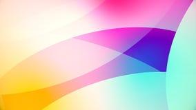 Abstracte achtergrond van kleurrijke reusachtige vormen Stock Foto's