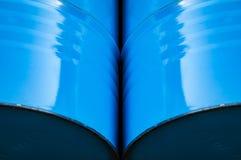 Abstracte achtergrond van metaalvaten stock afbeeldingen