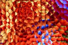 Abstracte achtergrond van multicolored berijpt glas stock foto