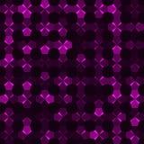 Abstracte achtergrond van multicolored pentagonen royalty-vrije illustratie