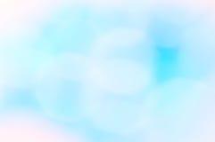 Abstracte achtergrond van onscherpe gekleurde vlekken Stock Afbeeldingen