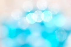 Abstracte achtergrond van onscherpe gekleurde vlekken en boke Stock Foto