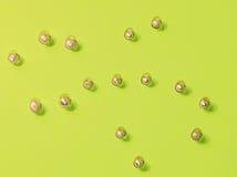 Abstracte achtergrond van parels beads Royalty-vrije Stock Foto