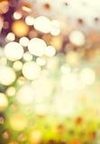 Abstracte achtergrond van retro gekleurde lichten Royalty-vrije Stock Fotografie