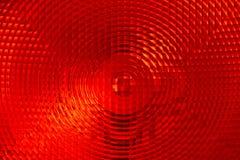 Abstracte achtergrond van rood gefacetteerd plastiek stock afbeelding