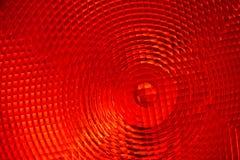 Abstracte achtergrond van rood gefacetteerd plastiek royalty-vrije stock afbeeldingen