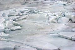 De abstracte achtergrond van het ijs Royalty-vrije Stock Foto
