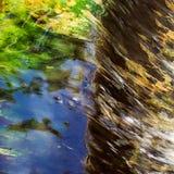 Abstracte achtergrond van waterbeweging Royalty-vrije Stock Foto