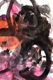 Abstracte achtergrond van waterverf royalty-vrije illustratie
