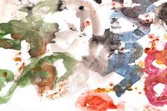 Abstracte achtergrond van waterverf stock illustratie