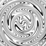 abstracte achtergrond Vectorillustratie met getolde lijnen op wit vector illustratie