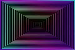 abstracte achtergrond Vectorillustratie voor uw behang of ontwerp Zwarte, purpere, roze, blauwe, groene kleuren Vierkant gekleurd stock illustratie
