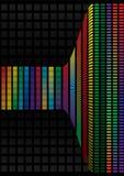 Abstracte achtergrond, vectorregenboog Stock Foto