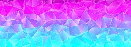 abstracte achtergrond veelhoekig Stock Afbeelding