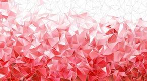 abstracte achtergrond Veelhoekige textuur Stock Foto
