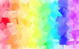Abstracte achtergrond in vele kleuren Royalty-vrije Stock Fotografie
