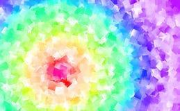 Abstracte achtergrond in vele kleuren Stock Fotografie