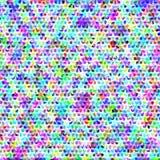 Abstracte achtergrond in verschillende kleuren rooster Royalty-vrije Stock Foto's