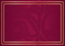 Abstracte achtergrond voor diploma Royalty-vrije Stock Foto's