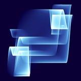 Abstracte achtergrond voor ontwerp Vector Illustratie