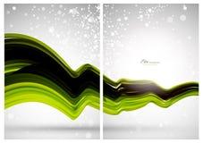 Abstracte achtergrond, voorzijde en rug Stock Fotografie