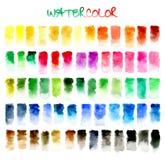 abstracte achtergrond Waterkleur Royalty-vrije Stock Foto's