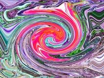 abstracte achtergrond Wervelingen vector illustratie