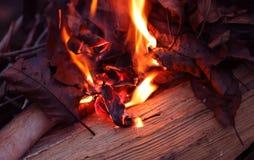 Abstracte achtergrondafbeelding van een rode vlam van een brand stock afbeeldingen