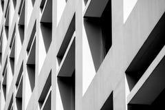 Abstracte achtergrondarchitectuurlijnen Het moderne detail van de Architectuur royalty-vrije stock fotografie