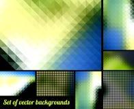 Abstracte achtergronden Royalty-vrije Stock Afbeeldingen