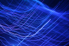 Abstracte Achtergronden - Blauwe Golven vector illustratie