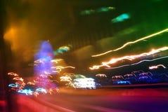 Abstracte achtergronden van lichte stromen Royalty-vrije Stock Foto's